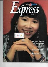 AMTRAK EXPRESS MAGAZINE JULY/AUGUST 1993 AMY TAN-ROUTE MAP-LA-RAILS REMEMBERED