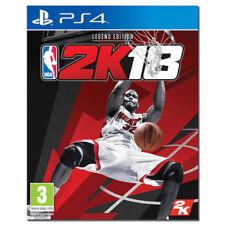 NBA 2K18 LEGEND EDITION PS4 VIDEOGIOCO ITALIANO COPERTINA EU PLAY STATION 4
