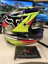 Fox V4 Chrome Motocross Helmet Size Medium