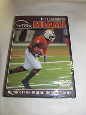 The Legends of the Miami Hurricanes - DVD - NEW