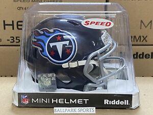 TENNESSEE TITANS - Riddell Speed Mini Helmet (NEW IN BOX)