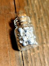 10 GRAMS OF .9999 FINE SILVER SHOT! PURE in Glass Vial! bullion rounds coins bar