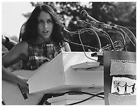 Famous Historic Photo: JOAN BAEZ Singing at the Civil Rights March in Wash. 1963