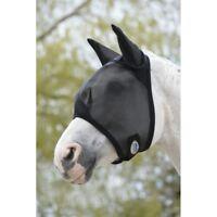 Weatherbeeta Fly Mask Fliegenmaske mit UV-Schutz Fliegenschutz Maske schwarz neu