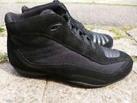 Stylmartin Top Biker Motorrad Roller Schuhe / Stiefel - Dallas Schwarz Größe 39