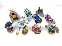 Skylanders SuperChargers LOT of 10 Figures and Vehicles
