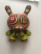 "Dunny Kidrobot- Tattoo Series  - 3"" Figure -  I Love Meat"