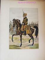 PL069 - PLANCHE JOB - GENERAL COMMANDANT UN DES RGT DE GARDES D'HONNEUR 1813
