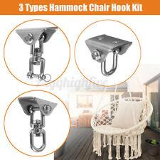 999 Lb Hammock Hanging Hook Swing Chair Ceiling Mount Stainless Steel Swivel