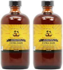 2X Sunny Isle Jamaican Black Castor Oil Xtra Dark 8oz Pack of 2 Pure 100%