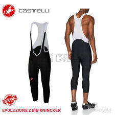 Castelli EVOLUZIONE 2 Bicycle Cycling Bib Knickers : BLACK  3/4 Bibs