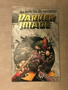 ~DARKER IMAGE Gold Edition #1 ~ Deathblow collectors CARD NM+ ~STILL IN POLYBAG~