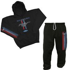 Ford Mustang sweatpants hoodie sweatshirt outfit sweatsuit tracksuit Men's black