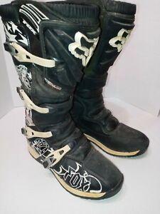 Fox Racing Comp 5 Motocross MX Off Road Dirt Bike Boots Men's Size 12