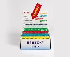 Anabox pill box 7days