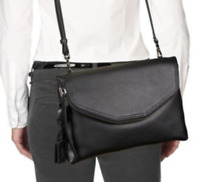 Tumi Noho Chrystie East West Messenger Crossbody Bag Black 48960 Reg $295