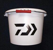 DAIWA NEW Bait Bucket / Groundbait With Lid - 18 Litre - DWB18L - WHITE