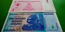! ZIMBABWE $100 TRILLION & 1 CENT !