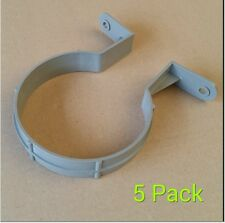 110mm Pipe clip / 4 inch bracket soilpipe soil pipe drainage clips - Pack of 5