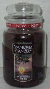 Yankee Candle Large Jar Candle 110-150 hrs 22 oz ENCHANTED MOON