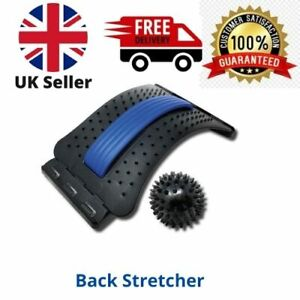 Back Magic Stretcher Lower Lumbar Pain Spine Massager Support Posture Relief