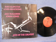 Duke Ellington / Louis Armstrong..., Jazz By The Greatest, CMI 1008, 1977 Jazz