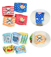 Male Dog Belly Band Belt Cartoon Puppy Sanitary Underwear Physiological Pant