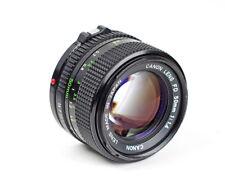 Canon FD 1.4/50mm f/1.4 50mm mount Canon FD No.3104797