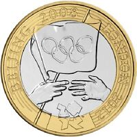 2008 £2 OLYMPIC GAMES HANDOVER BEIJING TWO POUND COIN HUNT 16/32 RARE 2 xx