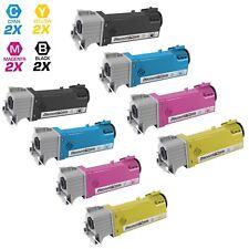 8PK 2130cn 2135cn Laser Toner Set for Dell T106C T107C T109C T108C HY Cartridges