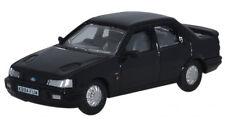Oxford 76FS001 Ford Sierra Ébano Negro 1/76th = 00 Gauge Nuevo en Caso de T48
