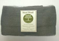 Finest steel wool - 0000 grade - 2m- natural earth oils