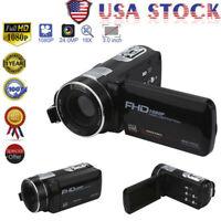 Digital Camera Full HD 1080P Professional Video Camcorder Vlogging Camera Home
