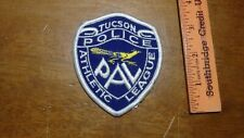 TUCSON ARIZONA POLICE ATHLETIC LEAGUE PAL POLICE   PATCH OBSOLETE BX 10#30