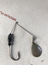 Jig Head Fishing Lure Hook Spoon Color Black Used