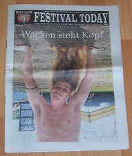 Festival Today - Wacken Open Air Newspaper -  August 2012