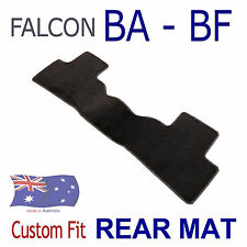 Tailored One-Piece REAR ONLY Floor Mat To suit Ford BA-BF Wagon Black CARPET