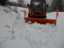 Schneeschild Schneepflug räumschild  2m NEU Multicar M26 Polyurethanschürfleiste