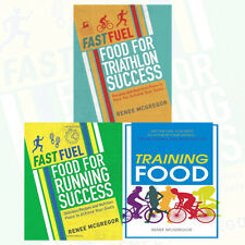 Renee McGregor Fast Fuel Food 3 Books Collection Set Running Success,Training Fo