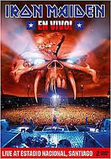 """DVD IRON MAIDEN """"EN VIVO! (2DVD. ED. ESPECIAL)"""". Nuevo y precintado"""