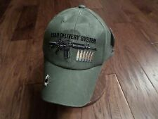 U.S.MILITARY M-16 LEAD DELIVERY SYSTEM HAT EMBROIDERED MILITARY BALL CAP