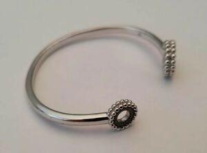 LINKS OF LONDON Effervescence Sterling SIlver Blue Diamond Bracelet