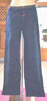 MARITHÉ FRANCOIS GIRBAUD Joli jeans bicolore femme Taille 38 (W 27- i42)