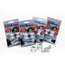 Oxford Motorcycle Bobbins M6 (1.0 Thread) For Rear Paddock Stand  Silver