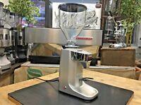 PRECISION GS6 ELECTRONIC SILVER ESPRESSO COFFEE GRINDER MACHINE HOME BARISTA MUG