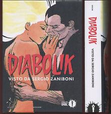 Diabolik visto da Sergio Zaniboni VOLUME CARTONATO