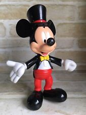 CUTE RARE VINTAGE COLLECTABLE DISNEY MICKEY MOUSE FIGURINE WITH MOVING PARTS