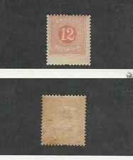 Sweden, Postage Stamp, #J16 Mint Nh, 1882