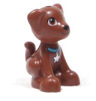 LEGO Friends - Hund Welpe Scout braun sitzend /  Puppy / 27986pb01 NEUWARE
