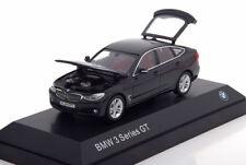 BMW 3ER GT F34 BLACK METAL 2012 I-SCALE 80422297635 1/43 NOIR SCHWARZ OPEN DOOR